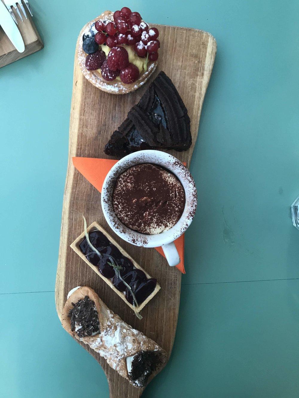 Dessert at Un Posto a Milano