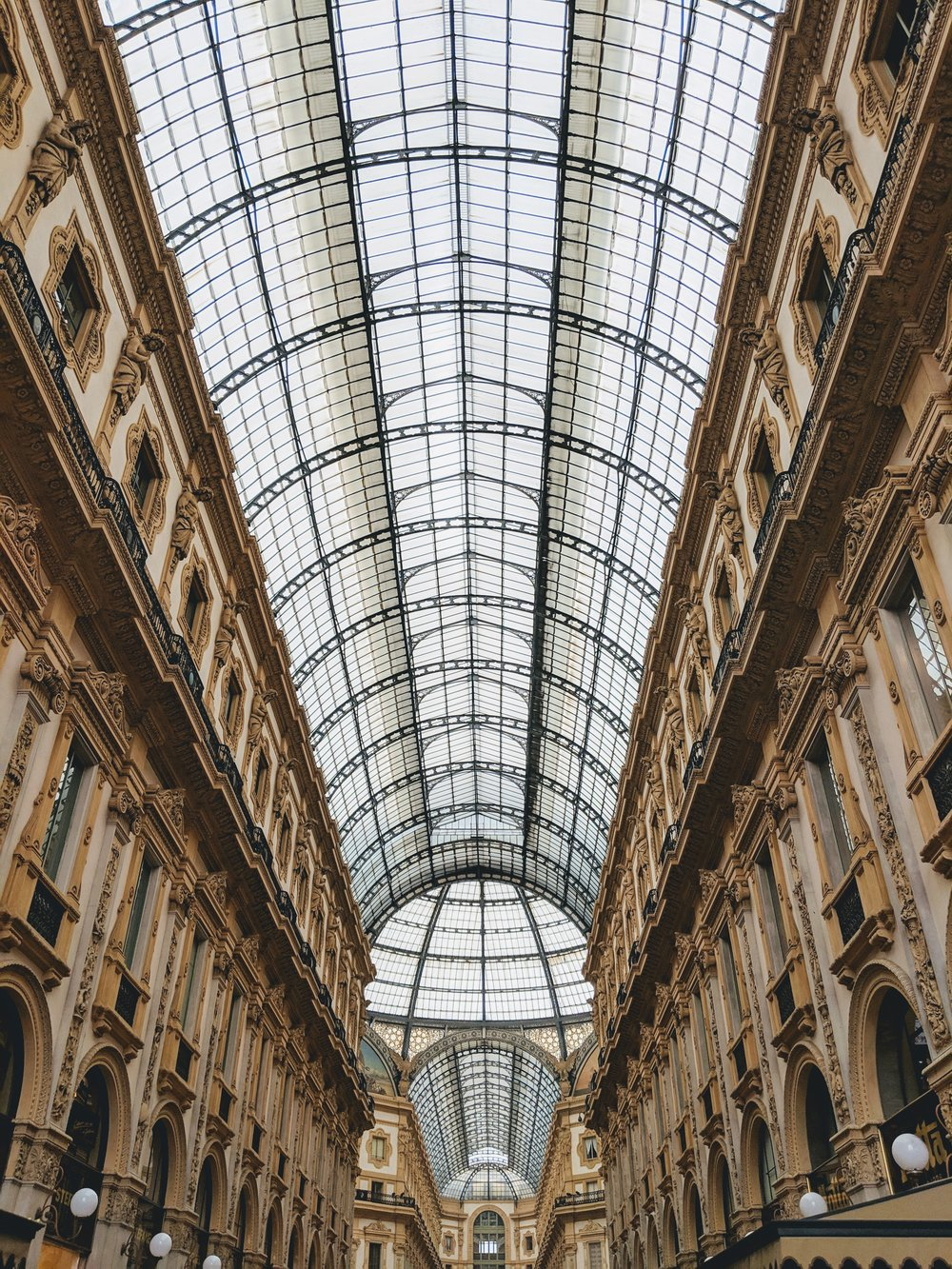 Inside Milan's Galleria