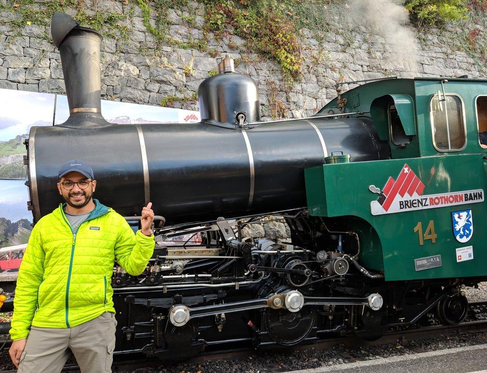 Brienz Rothorn Bahn, Switzerland's only daily steam rack railway