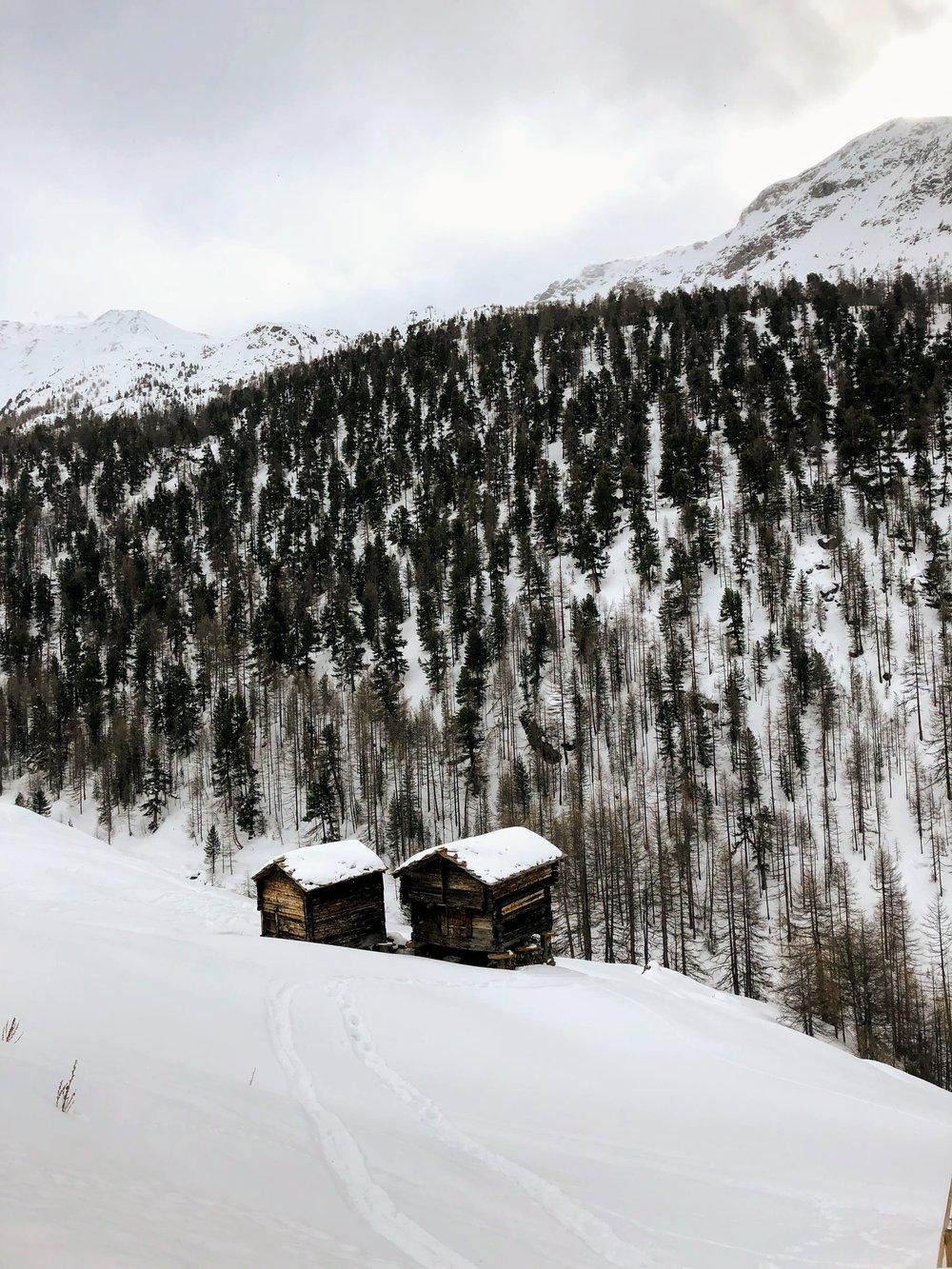 The little hamlet of Findeln