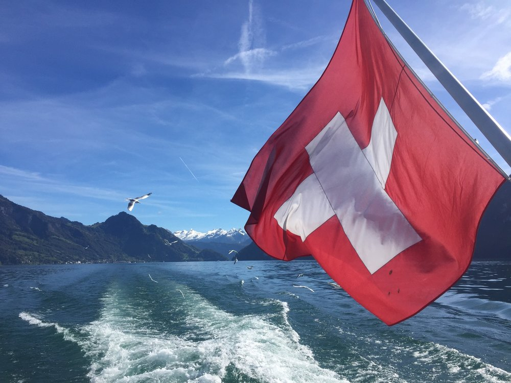 Ferry ride from Weggis to Lucerne
