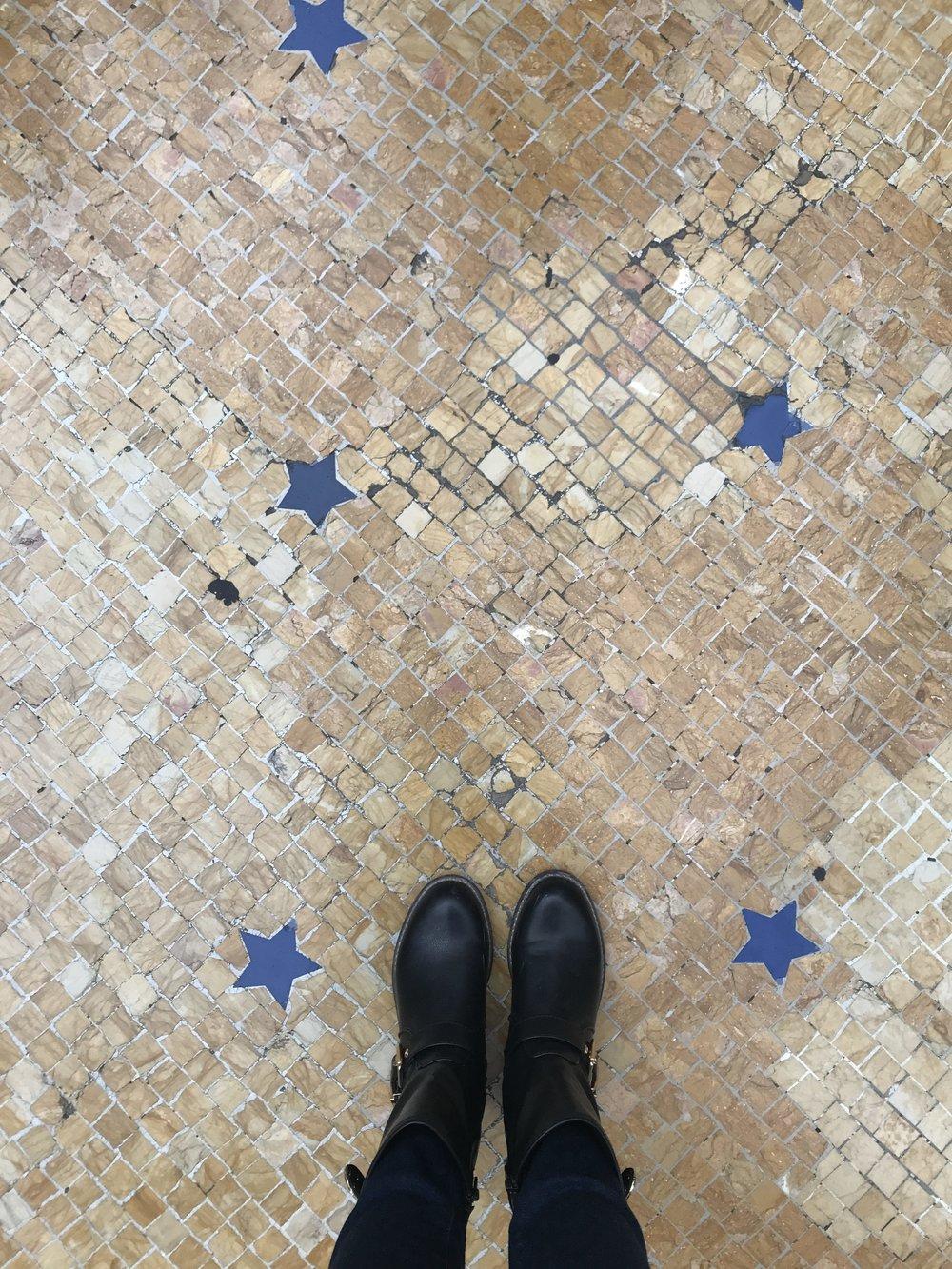 Tiles at Milan's Galleria