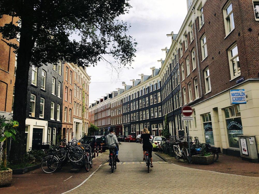 De Pijp neighborhood in Amsterdam