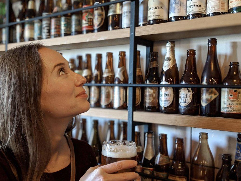 Beer selection at Brouwerij 't IJ.jpg