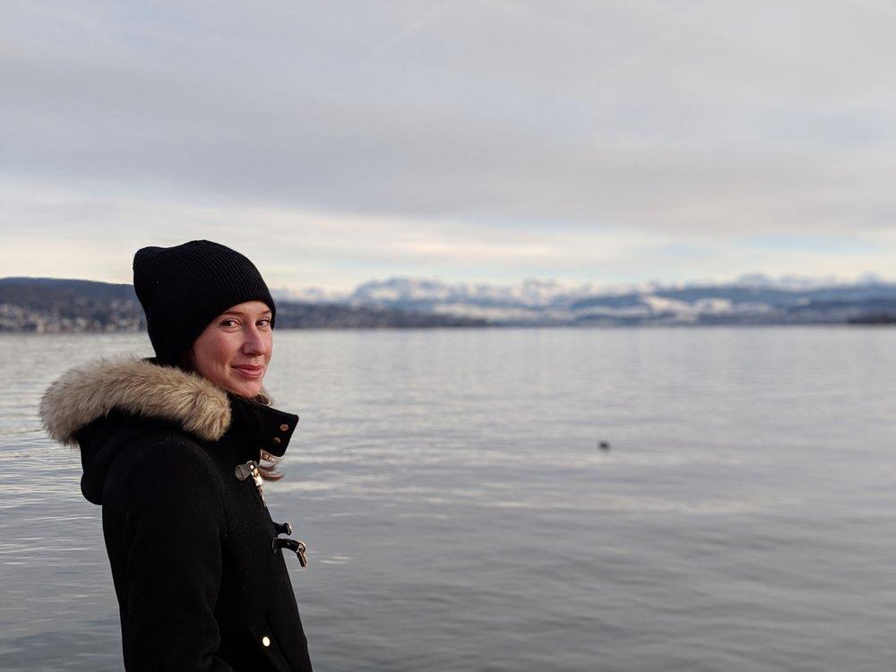 Lake Zurich from Wädenswil