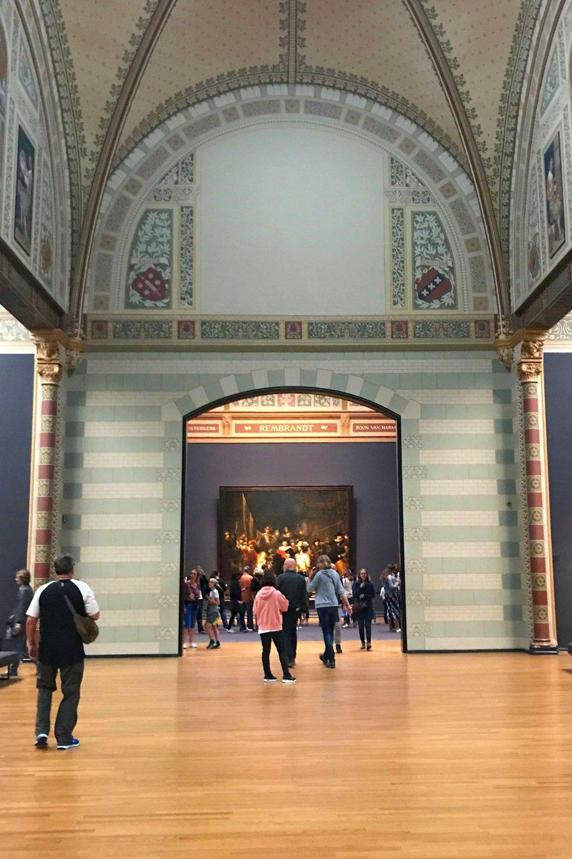 Night's Watch gallery in Rijksmuseum