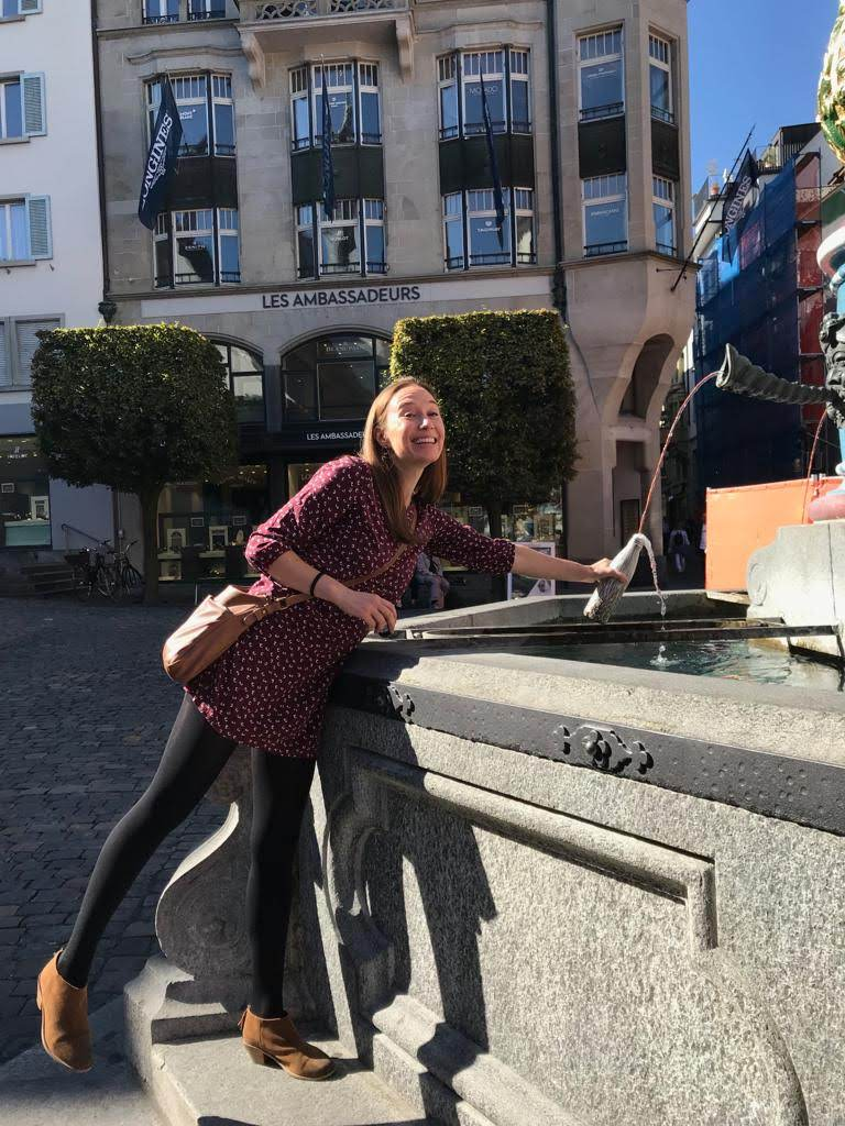 Public water fountain in Lucern