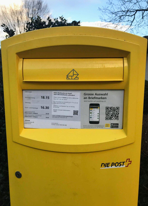Die Post office box