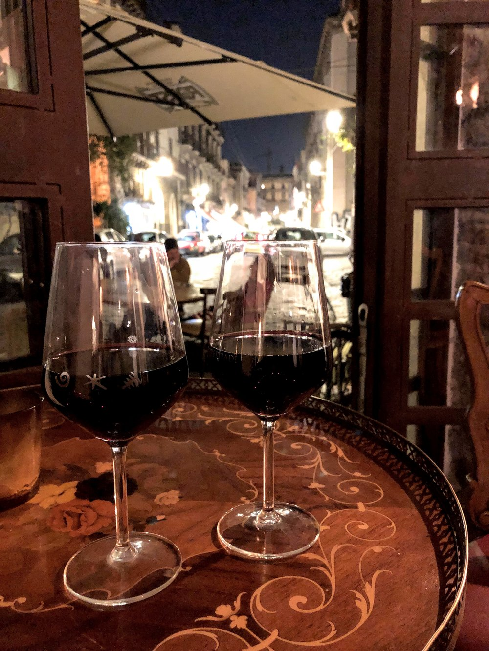 Wine at BarnAut in Catania, Sicily