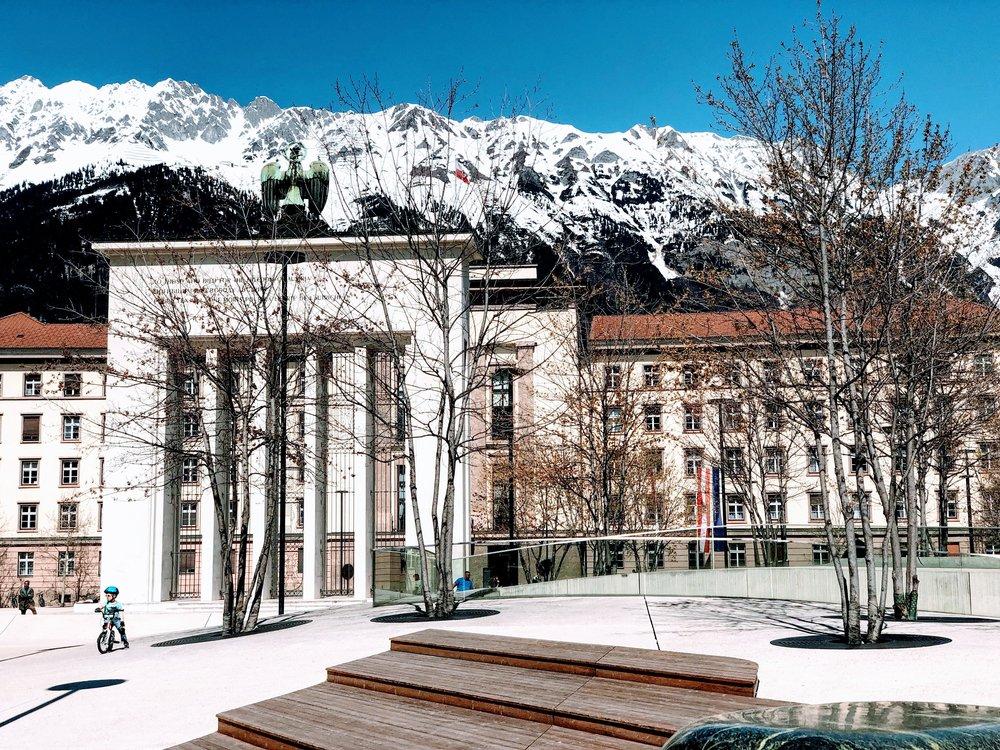 Landhausplatz, Innsbruck, Austria.jpg
