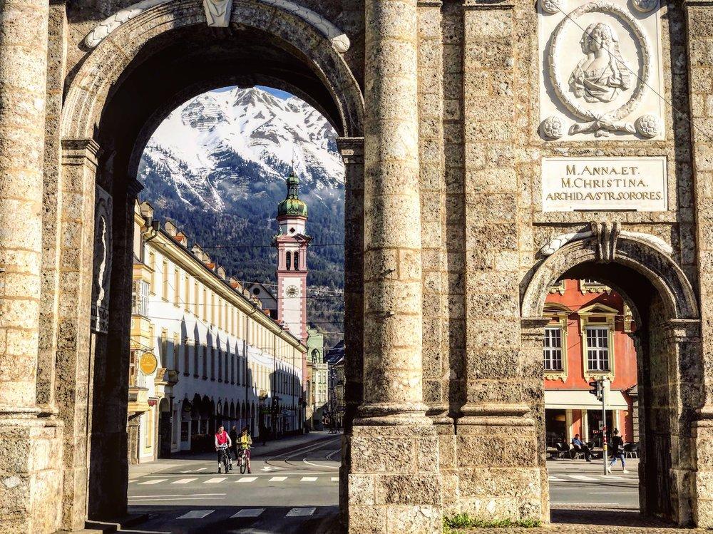 Triumphal Arch in Innsbruck Austria.jpg