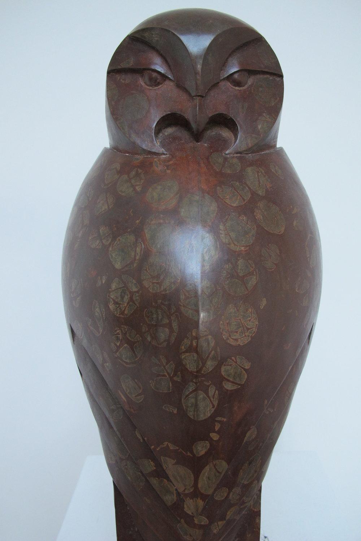 Tawny Owl back . £580 . H 50cm