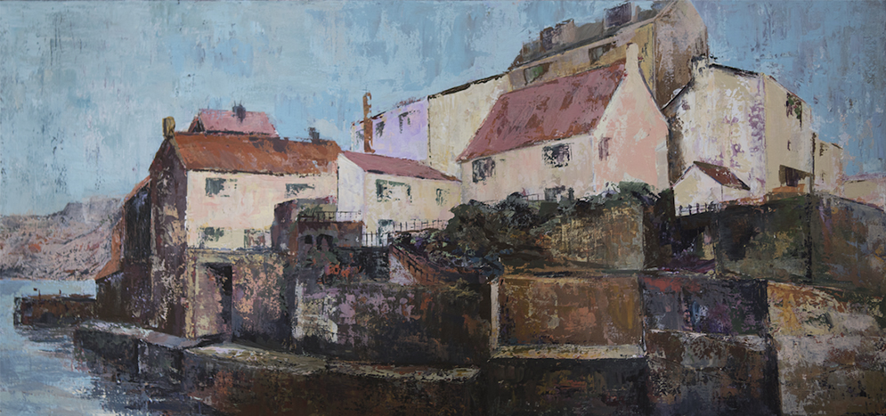 Heather Burton - New Day at Staithes