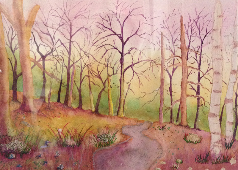 Eileen Humphrey - Forest in the Pink
