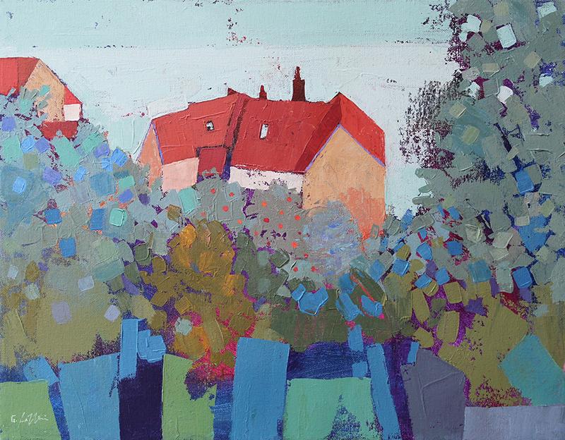 Giuliana Lazzerini - 6 Red Rooftops, Runswick Bay