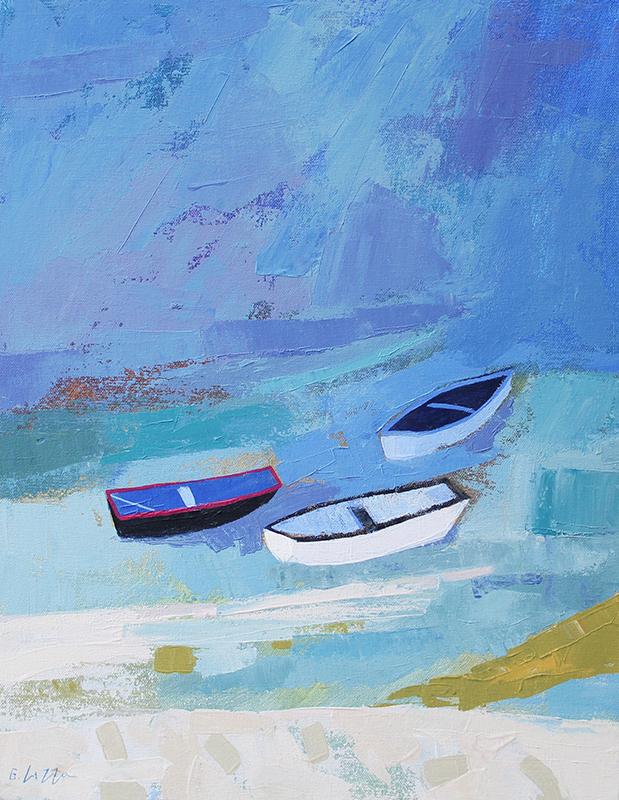 Giuliana Lazzerini - Boats at Staithes