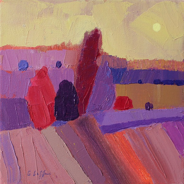 Giuliana Lazzerini - Sunset Trees
