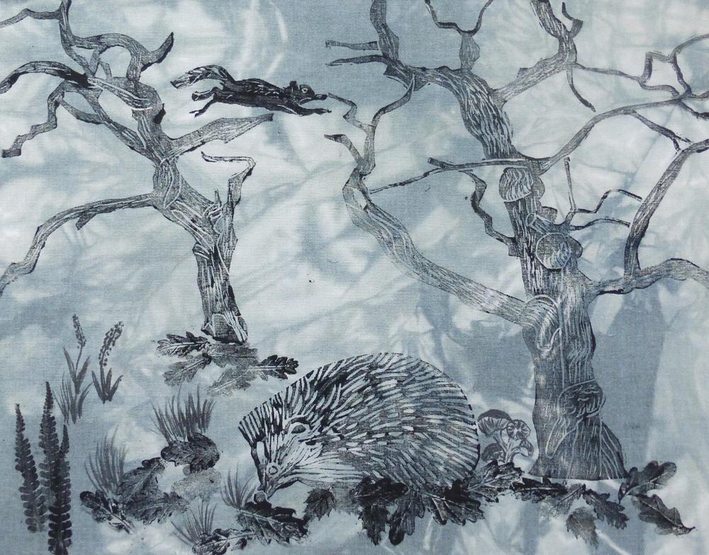 Jackie Dyson - Snuffling Hedgehog