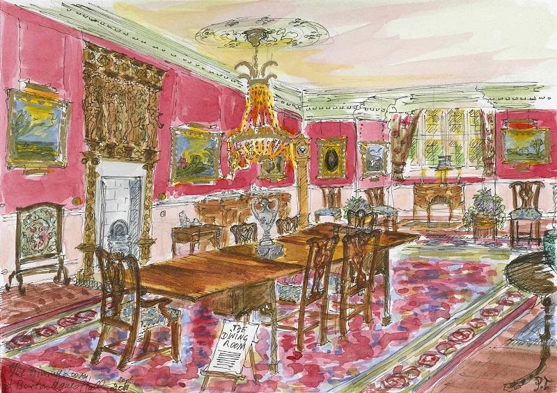Patricia Thompson - B&A Dining Room