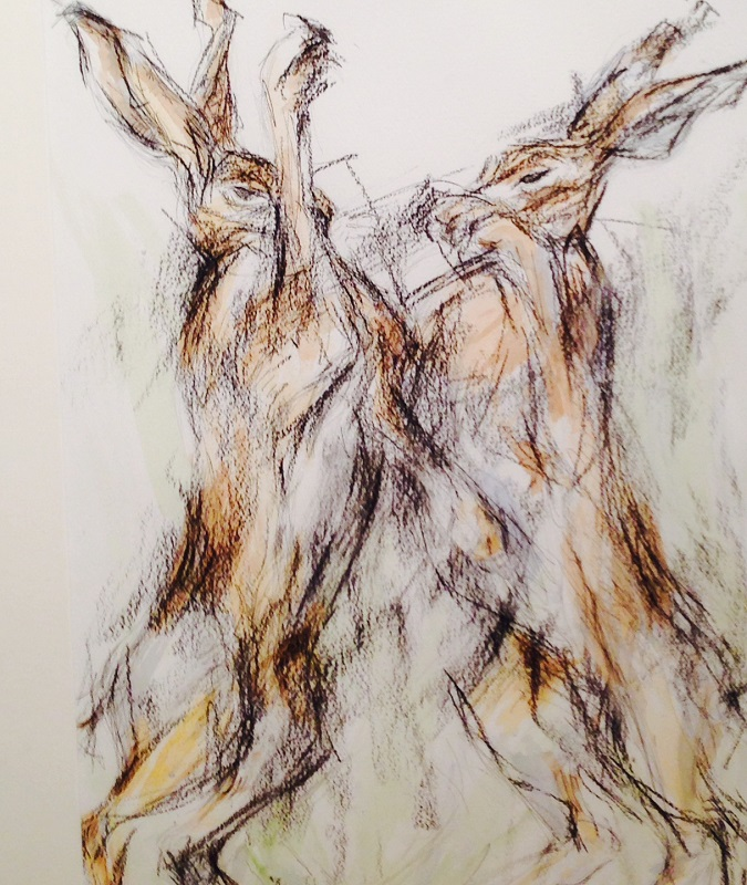 Maggie Moore - March Hares