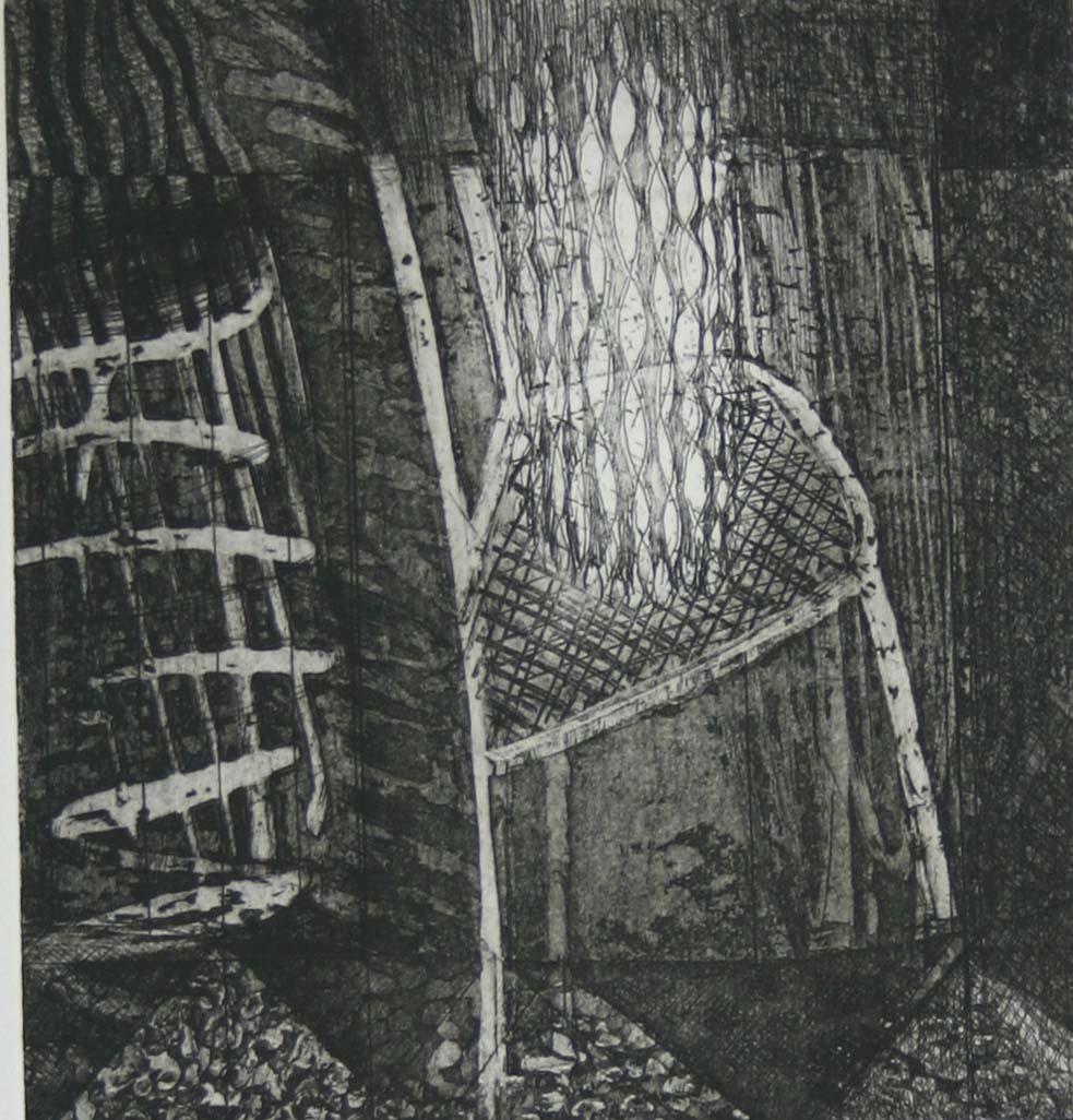 Geoff Morten - His Chair