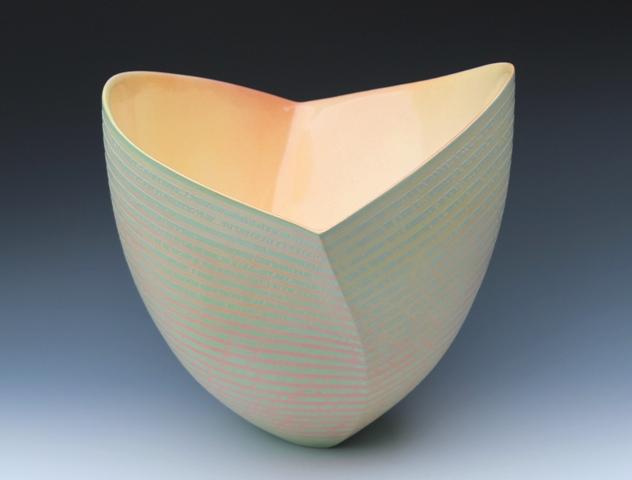 Jenny Morten - Striated Twisting Bowl