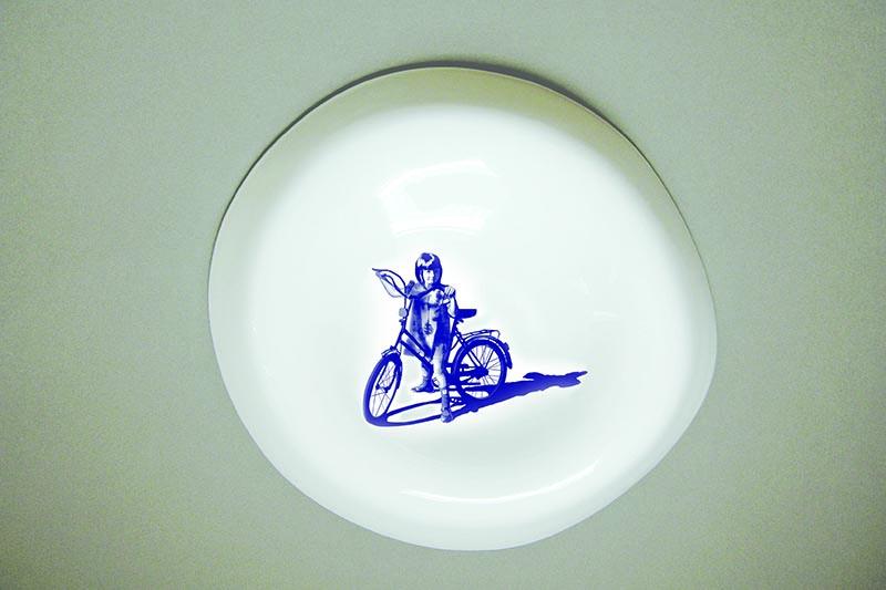 Adele Howitt - Alison & Bike Memory