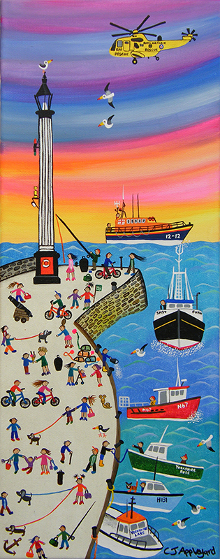 Caroline Appleyard - Bikes, Boats and Helicopters