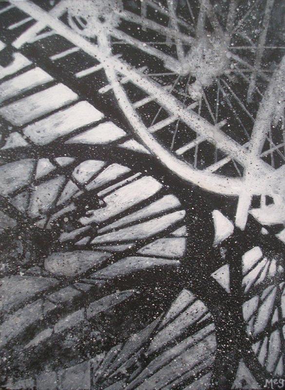 Meg Burkill - Snow Ride #2