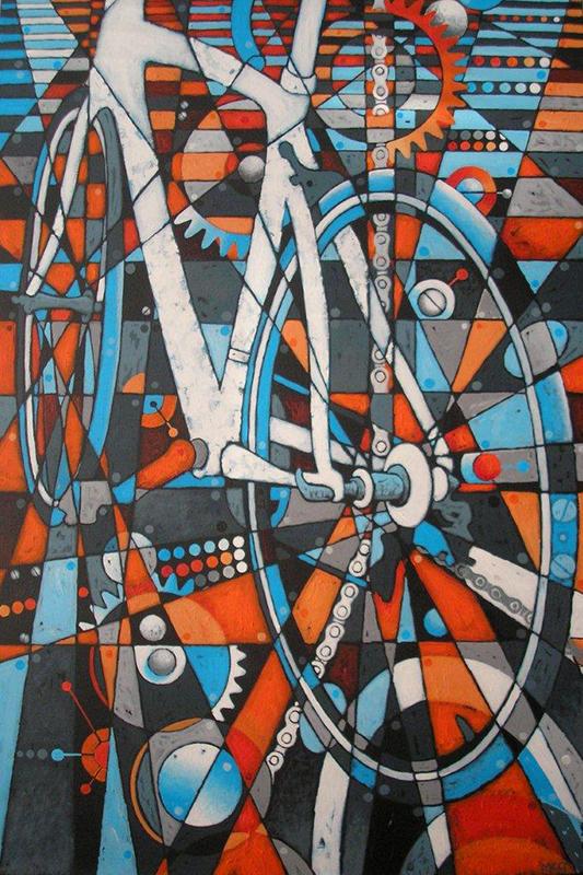 Meg Burkill - White Bicycle