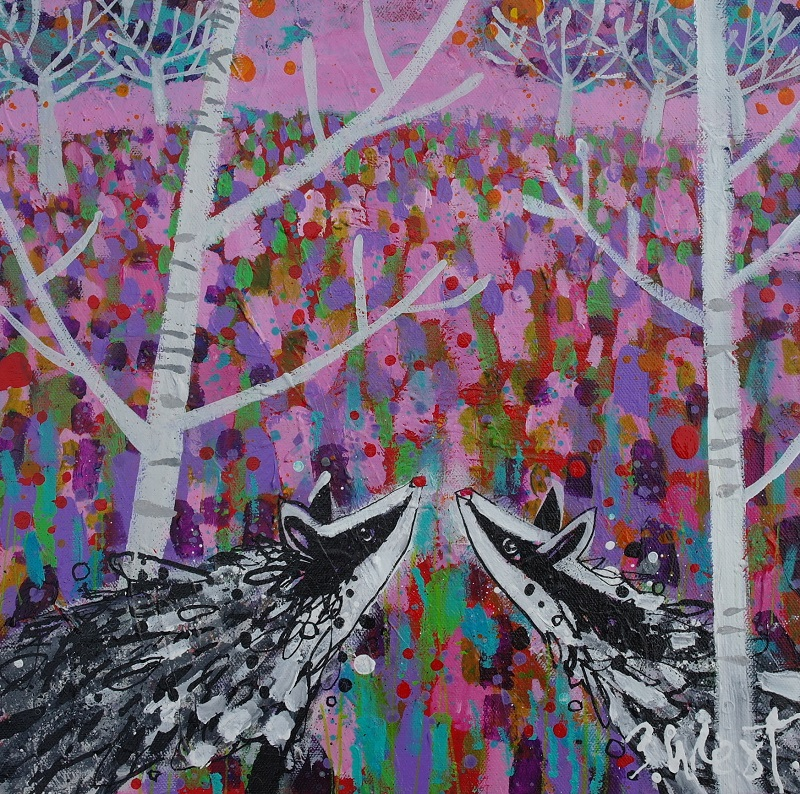 Claire West - Badger Wood