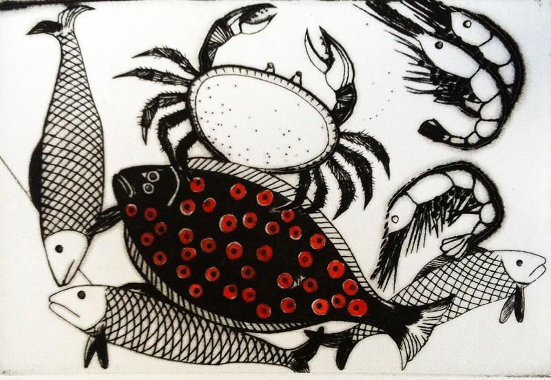 Colin Self - Plaice and Crab