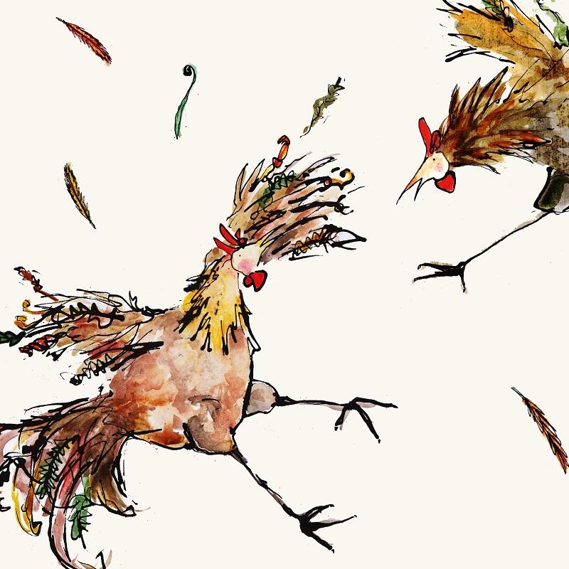 Holly Argyll - Chicken Fight
