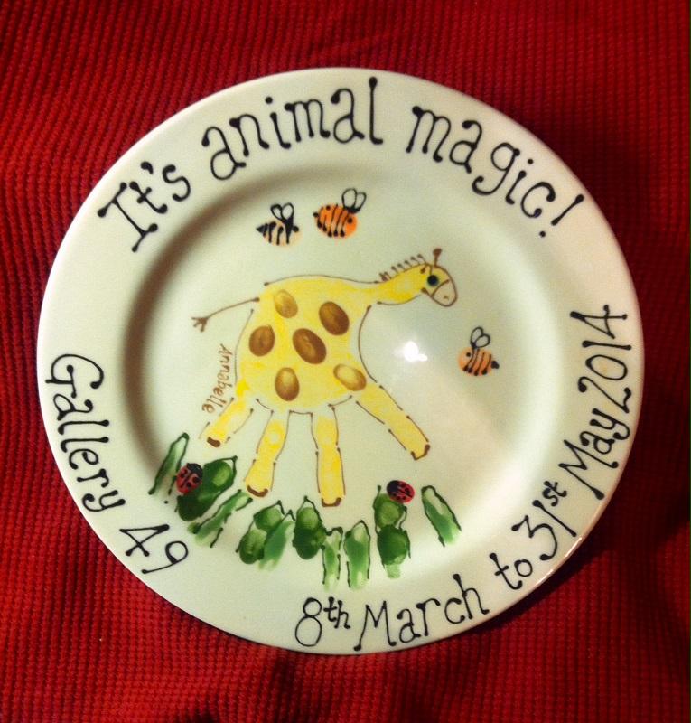 It's Animal Magic! Plate
