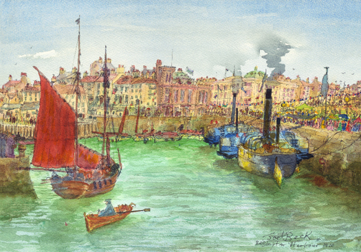Patricia Thompson - Bridlington Harbour