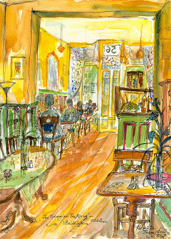 Patricia Thompson - Taking Tea, Georgian Tea Rooms