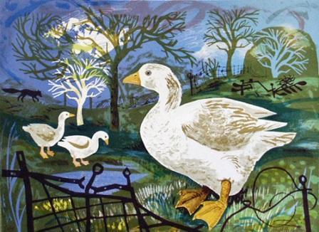 Mark Hearld - Orchard Goose