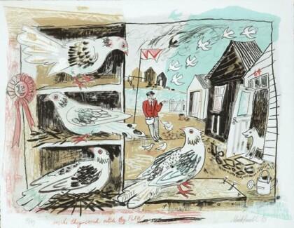 Mark Hearld - Pigeon Loft