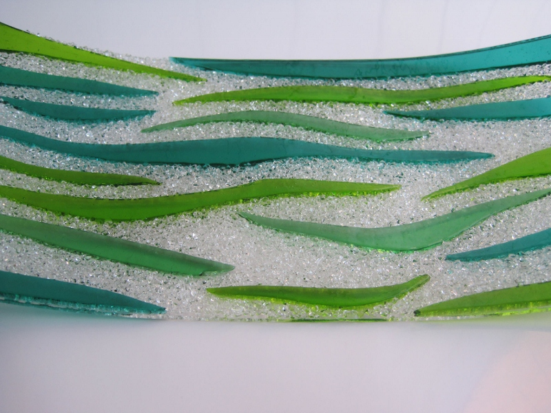 Debbie March - Texture Dish Green