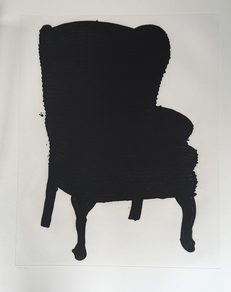 Humphrey Ocean - Black Stripey Lovechair