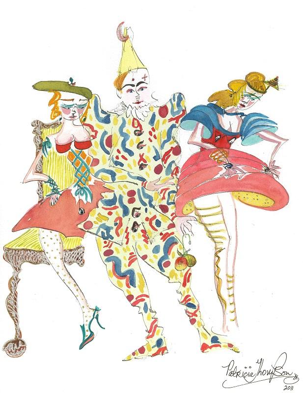 Patricia Thompson - Burlesque