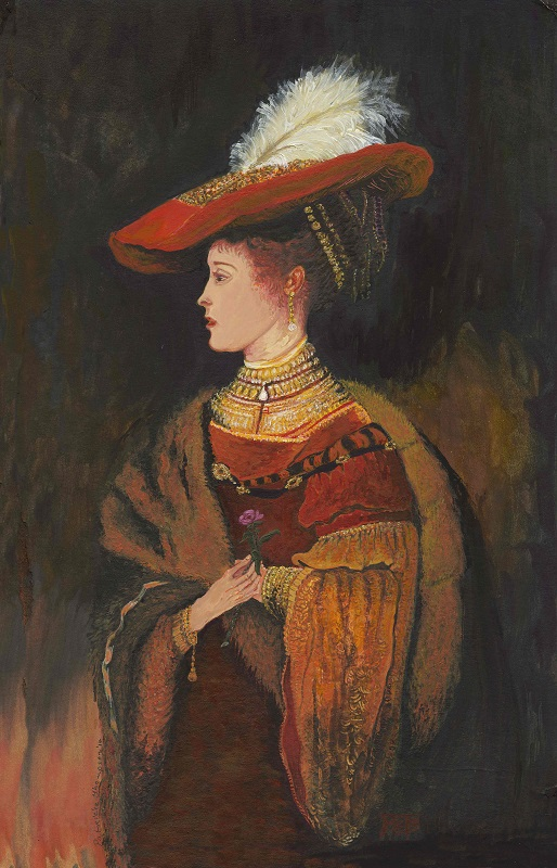 Patricia Thompson - Lady in Red Hat