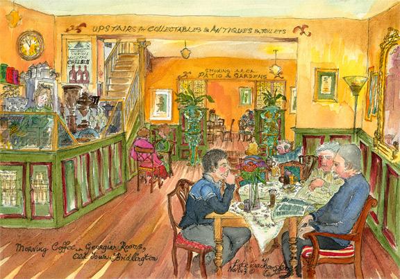 Patricia Thompson - Morning Coffee, Georgian Tea Rooms
