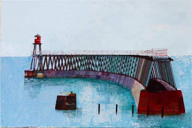 Lynne Wixon - Whitby East Pier
