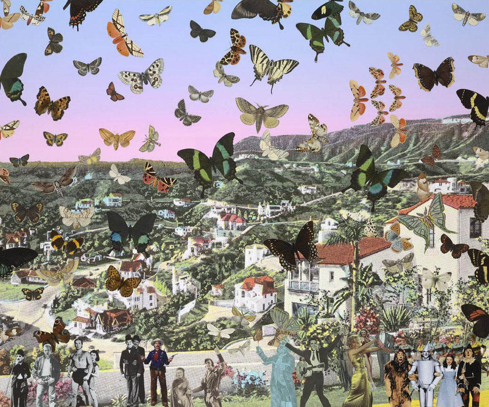 Peter Blake - The Butterfly Man in Hollywoodland