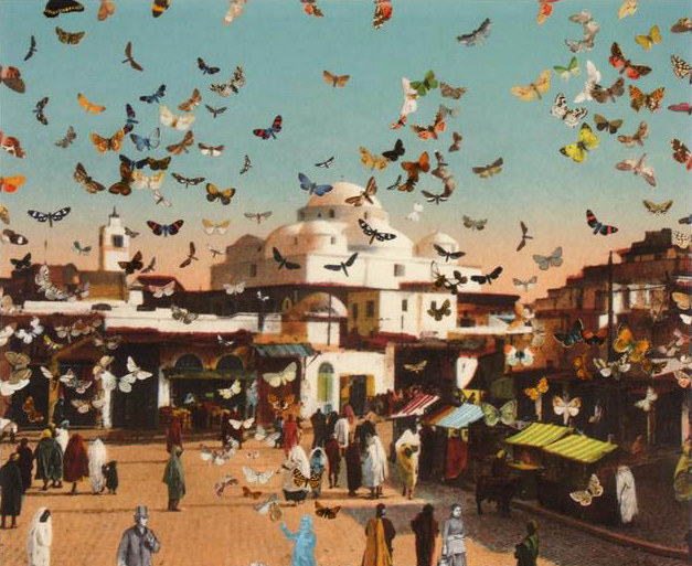 Peter Blake - The Butterfly Man in Tunis
