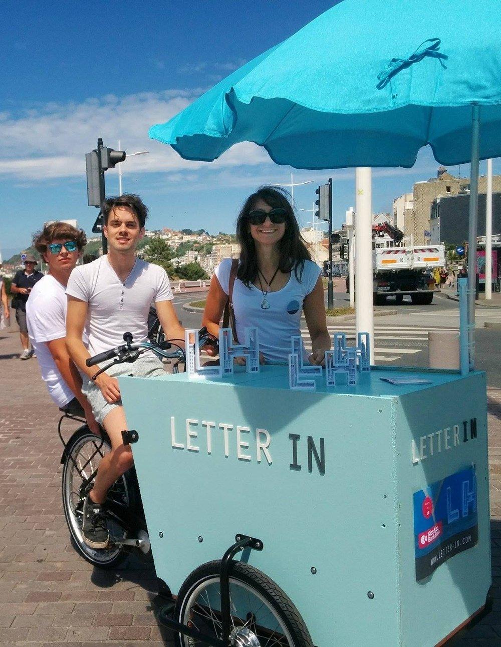 Le+triporteur+Letter+IN