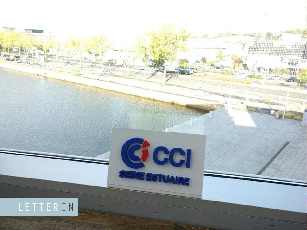 Logo CCI imprimé en 3D