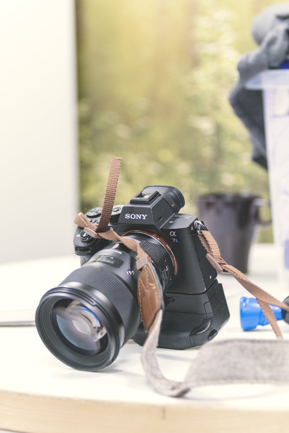 My Sony A7Sii with Sigma 50mm F1.4 ART lens and battery grip