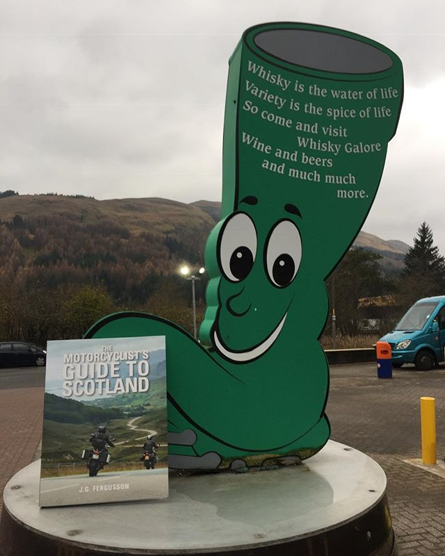 The Motorcyclist's Guide to Scotland is proud to welcome The Green Welly Stop into the fellowship of stockists! If you're on the A82, stop in Tyndrum and pick up a copy. . . . #motorcyclistsguidetoscotland  #ridescotland #thegreenwellystop #bestbikingroads #bikerfriendly